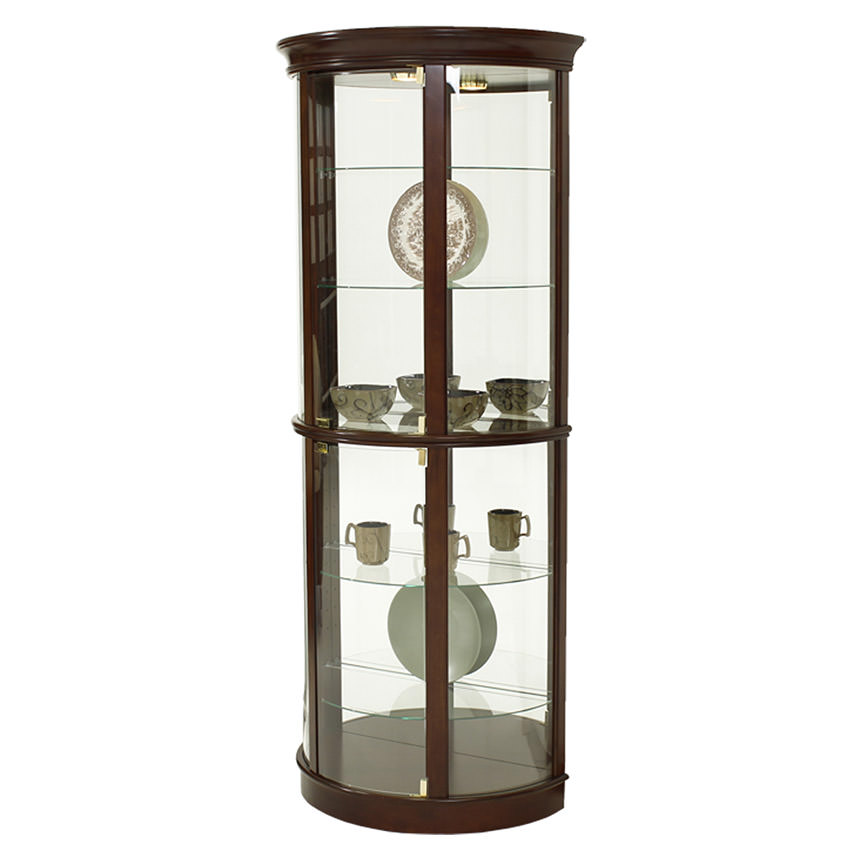 Light Cherry Curio El Dorado Furniture