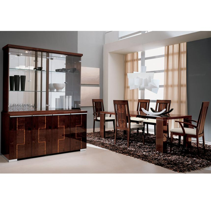 Pisa 5-Piece Formal Dining Set Made in Italy  alternate image, 2 of 13 images.