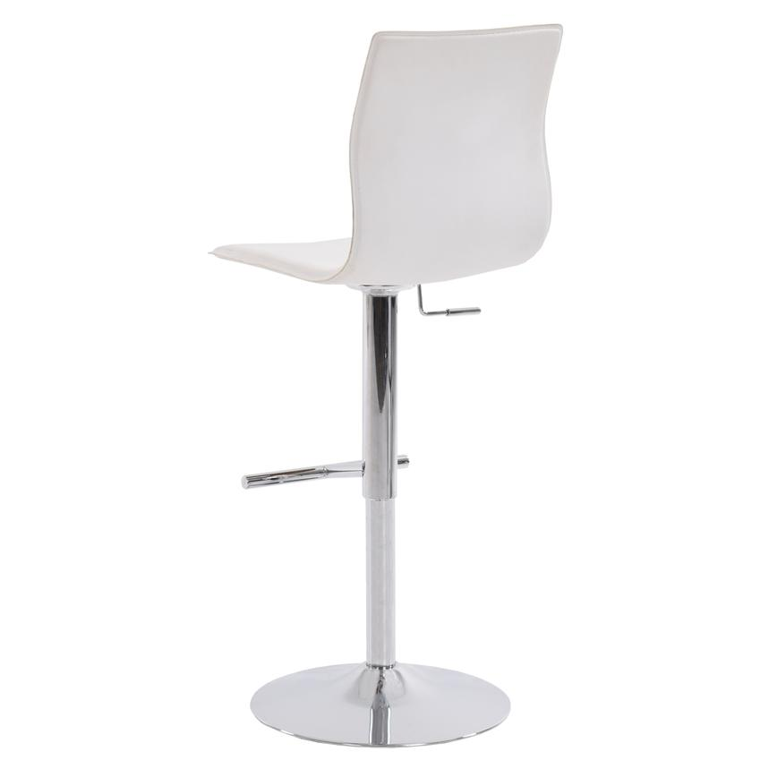 Evolution White Adjustable Stool  alternate image, 3 of 7 images.