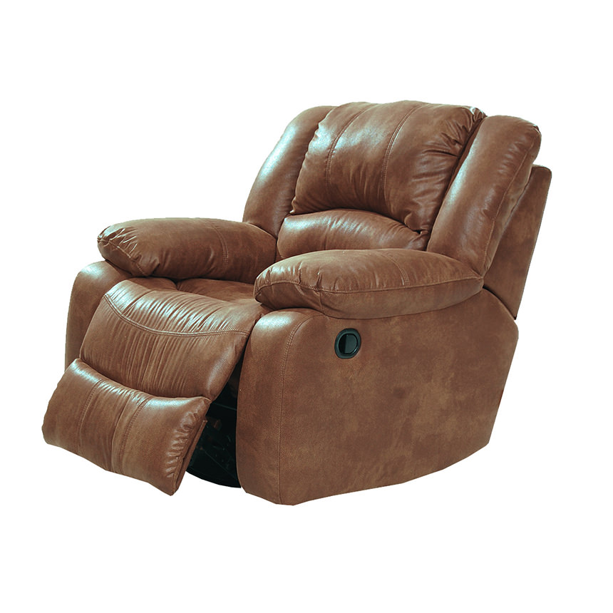 Wrangler Tan Swivel Glider Recliner  alternate image, 2 of 5 images.