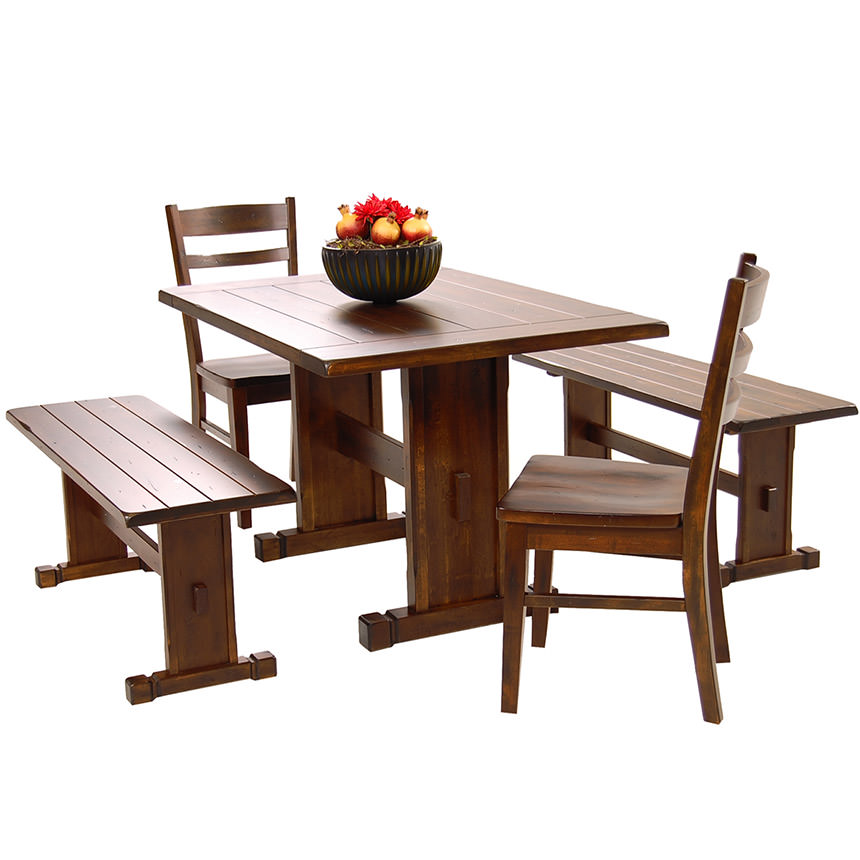 Genial Santa Fe 5 Piece Casual Dining Set Main Image, 1 Of 11 Images.