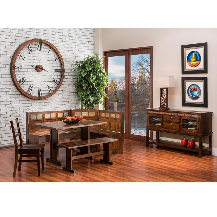 Santa Fe Corner Nook Set El Dorado Furniture