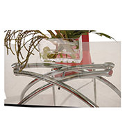 Elaine Red 5-Piece Casual Dining Set  alternate image, 4 of 9 images.