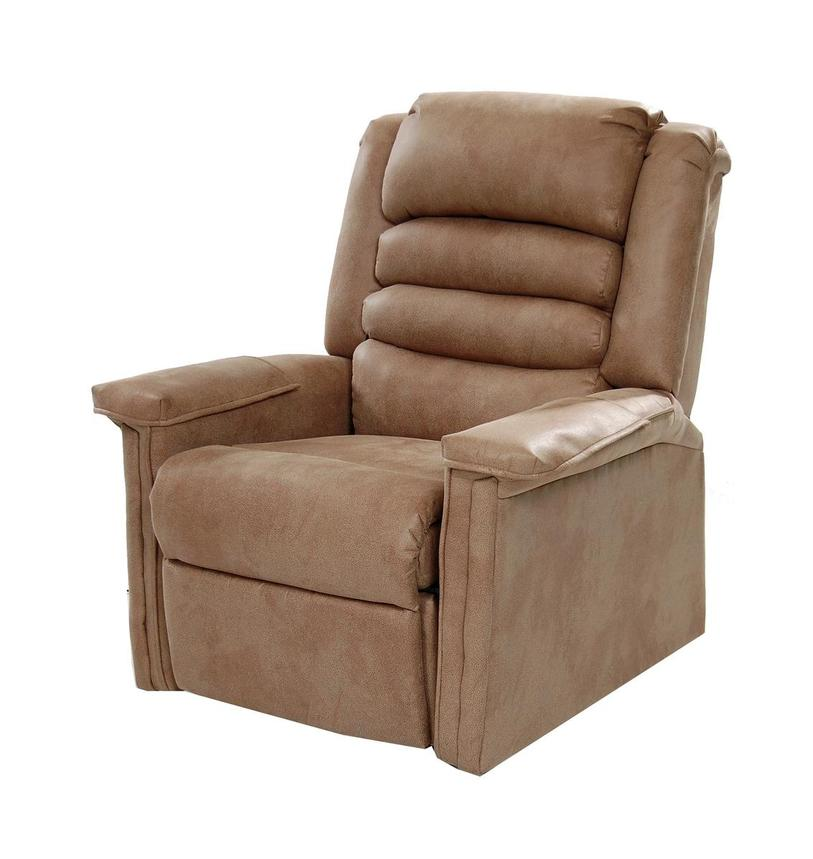 Soother Light Brown Power-Lift Recliner by Catnapper  alternate image, 2 of 9 images.