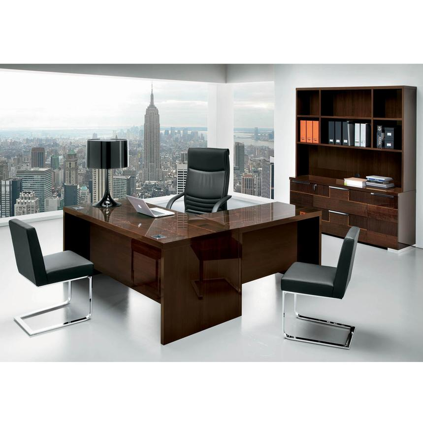 Pisa Executive Desk Made in Italy  alternate image, 2 of 7 images.