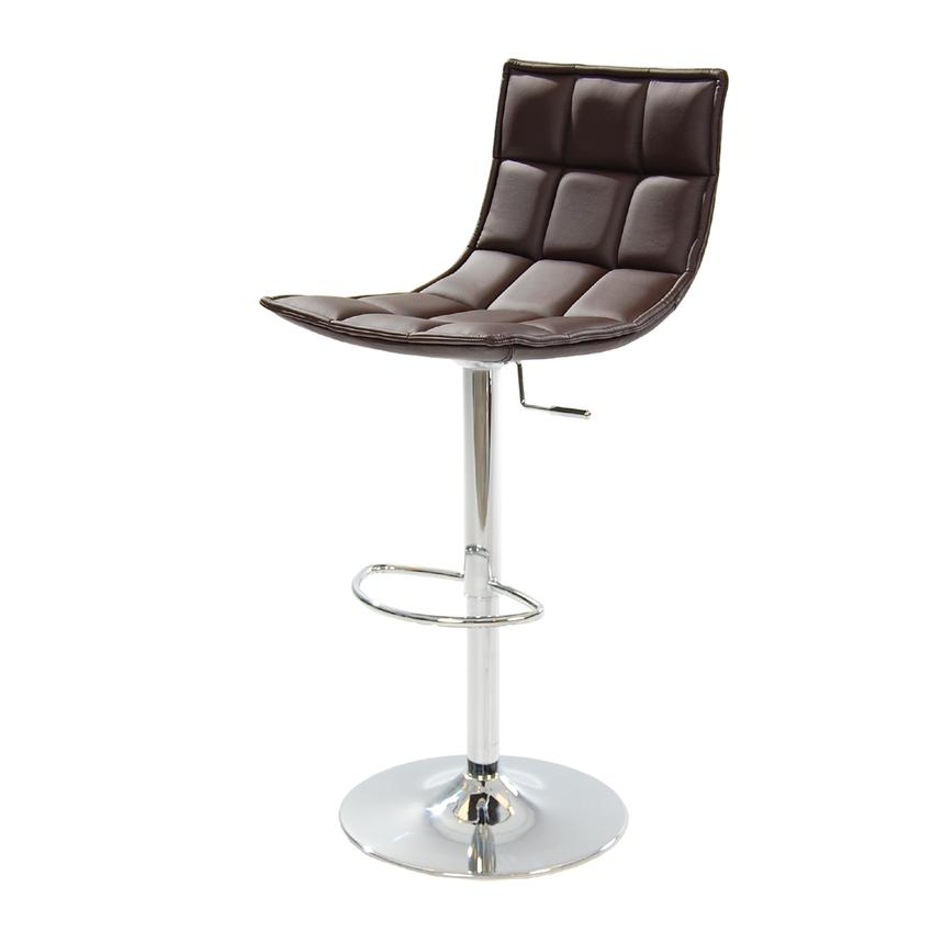 B-Cube Brown Adjustable Stool  alternate image, 2 of 8 images.