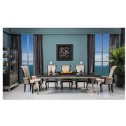 Hollywood Swank Black 5-Piece Formal Dining Set  alternate image, 2 of 16 images.