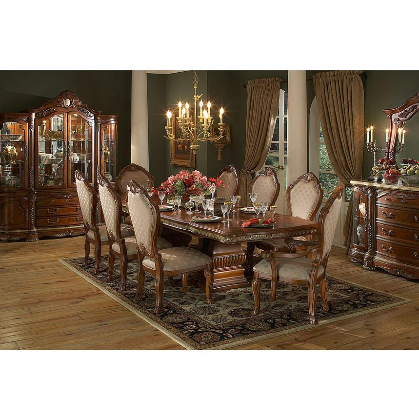 Cortina 5-Piece Formal Dining Set  alternate image, 2 of 11 images.