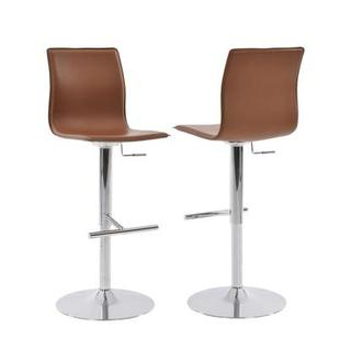 Evolution Cappuccino Adjustable Stool