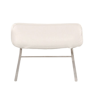 Gertrudes White Sofa Headrest