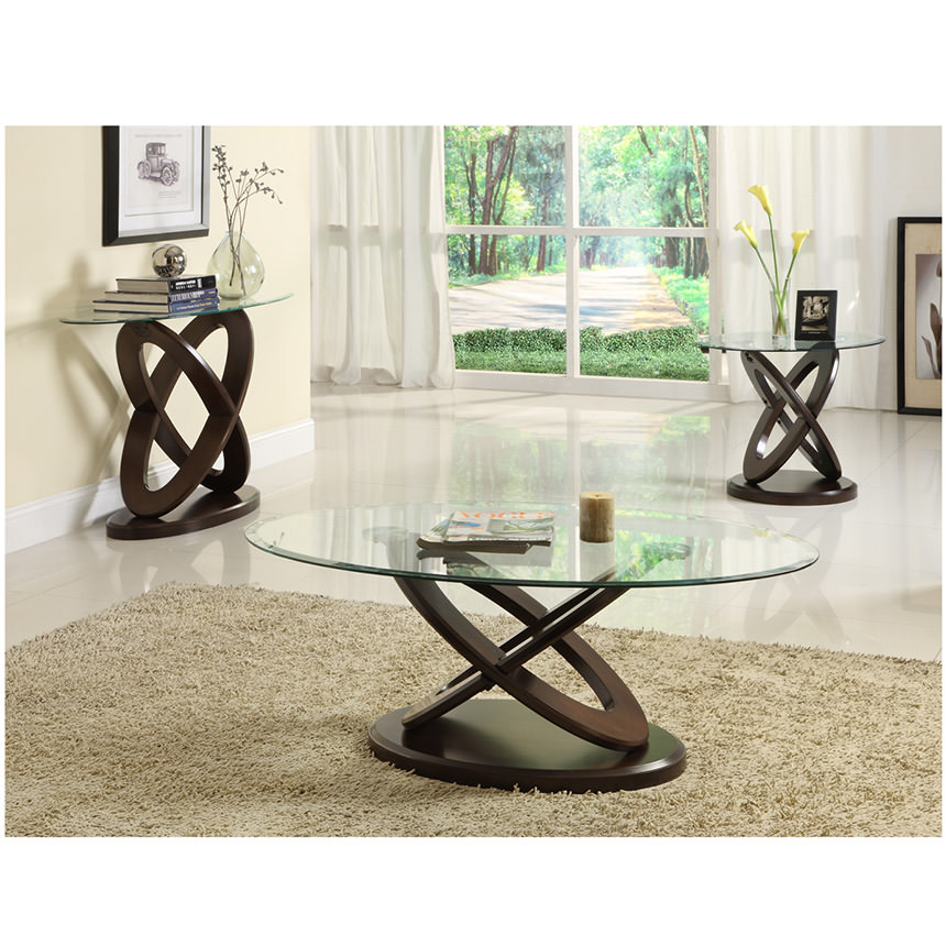 Beautiful Firth Espresso Side Table Alternate Image, 3 Of 4 Images.