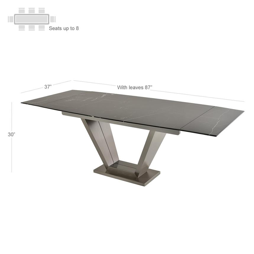 Jessy Extendable Dining Table Alternate Image 2 Of 7 Images