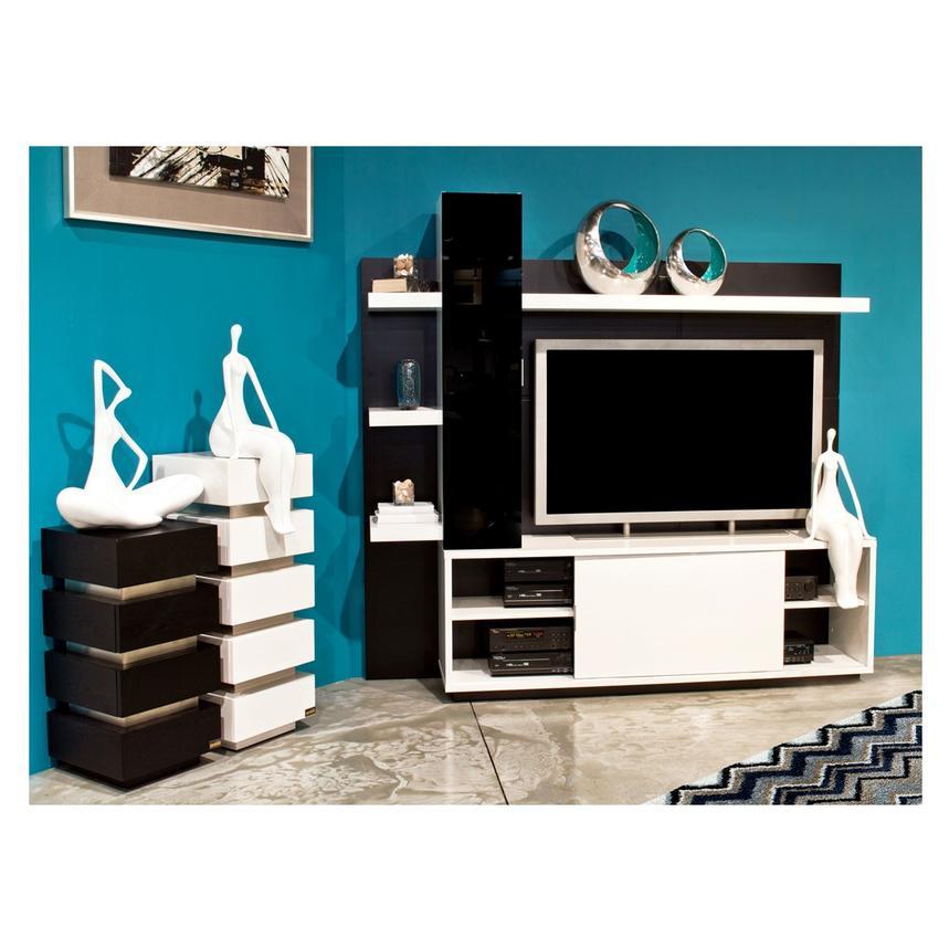 Beach White Wall Unit   El Dorado Furniture