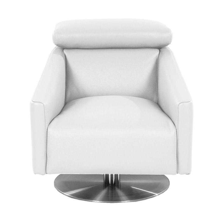 Div Leather Swivel Chair El Dorado Furniture