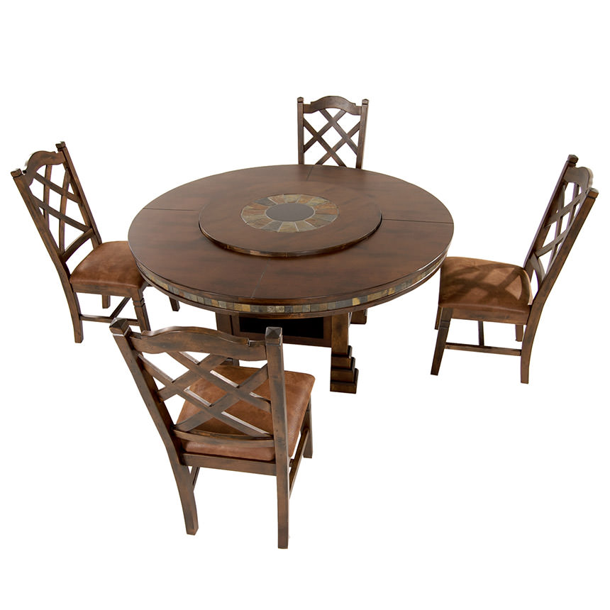 Santa Fe 5-Piece Casual Dining Set  alternate image, 2 of 16 images.