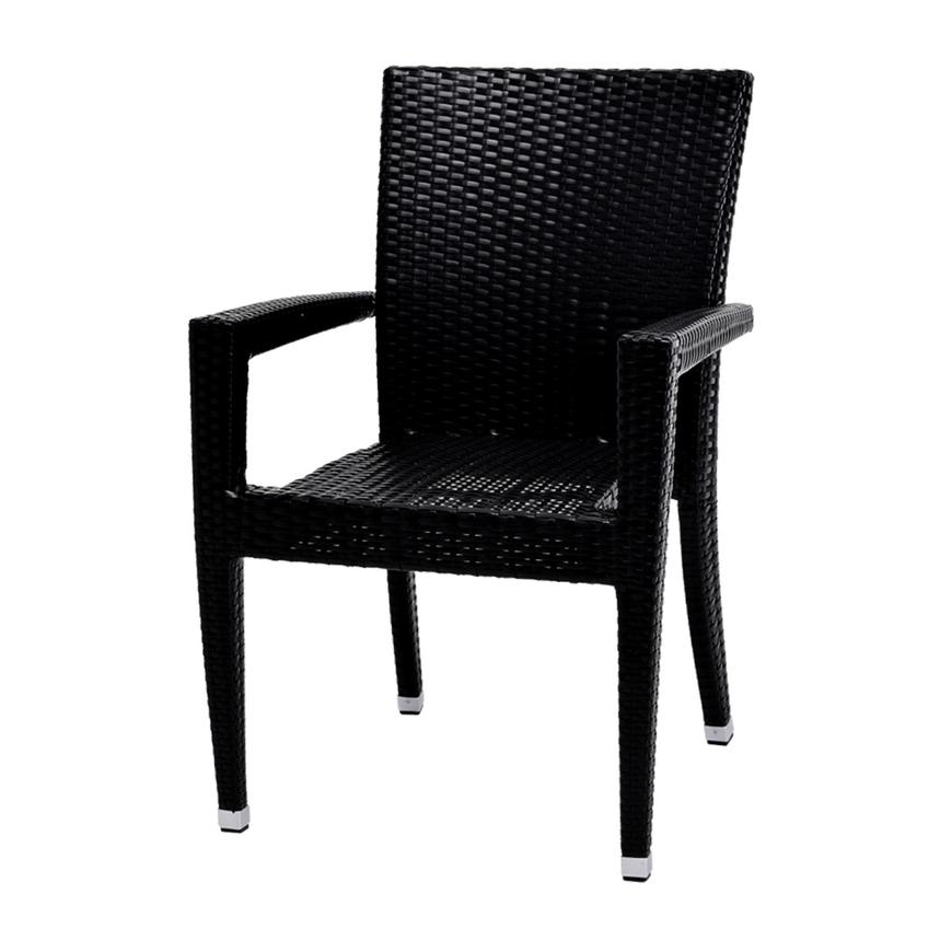 Neilina Black Dining Chair  alternate image, 2 of 6 images.