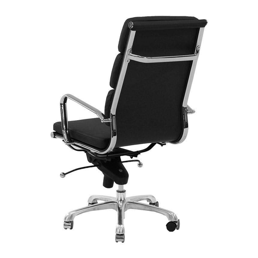 Marconi Black High Back Desk Chair Alternate Image, 3 Of 6 Images.