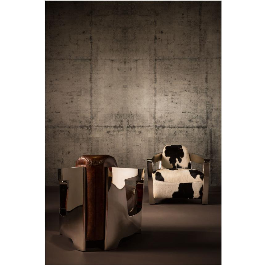 Genial Aviator Brown Leather Accent Chair Alternate Image, 2 Of 6 Images.