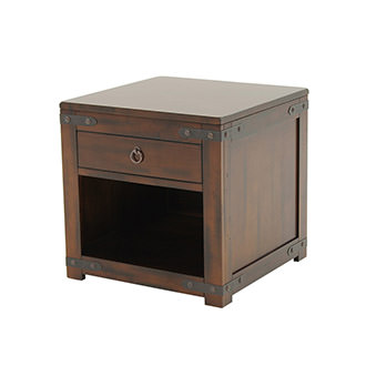 Santa Fe Side Table w/Storage