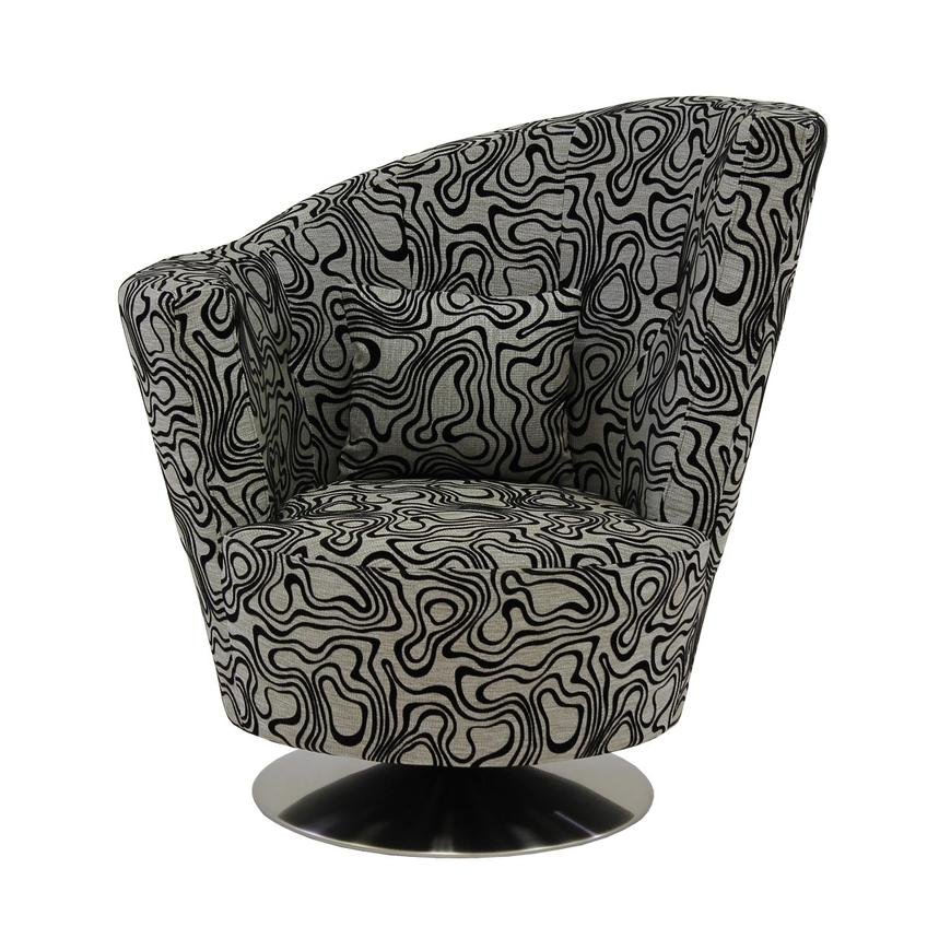 Delicieux Sasha Swirl Swivel Accent Chair Alternate Image, 3 Of 7 Images.