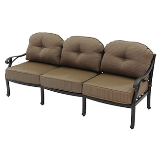 Castle Rock Brown Sofa