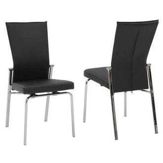Tara Black Side Chair