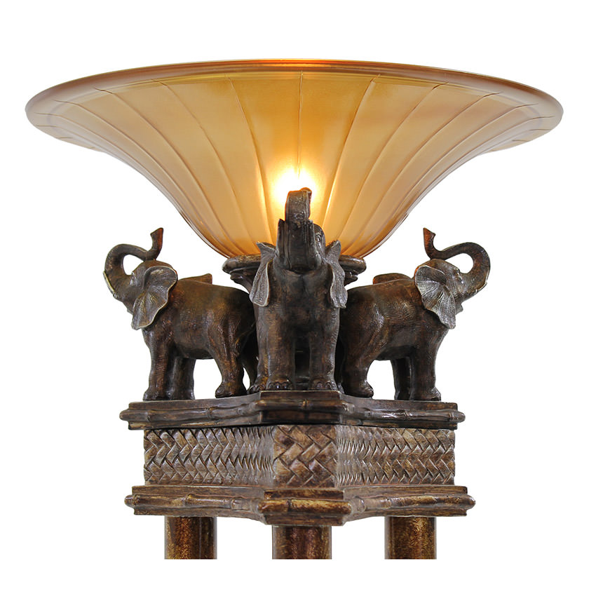 Elephant Floor Lamp  alternate image, 2 of 4 images.