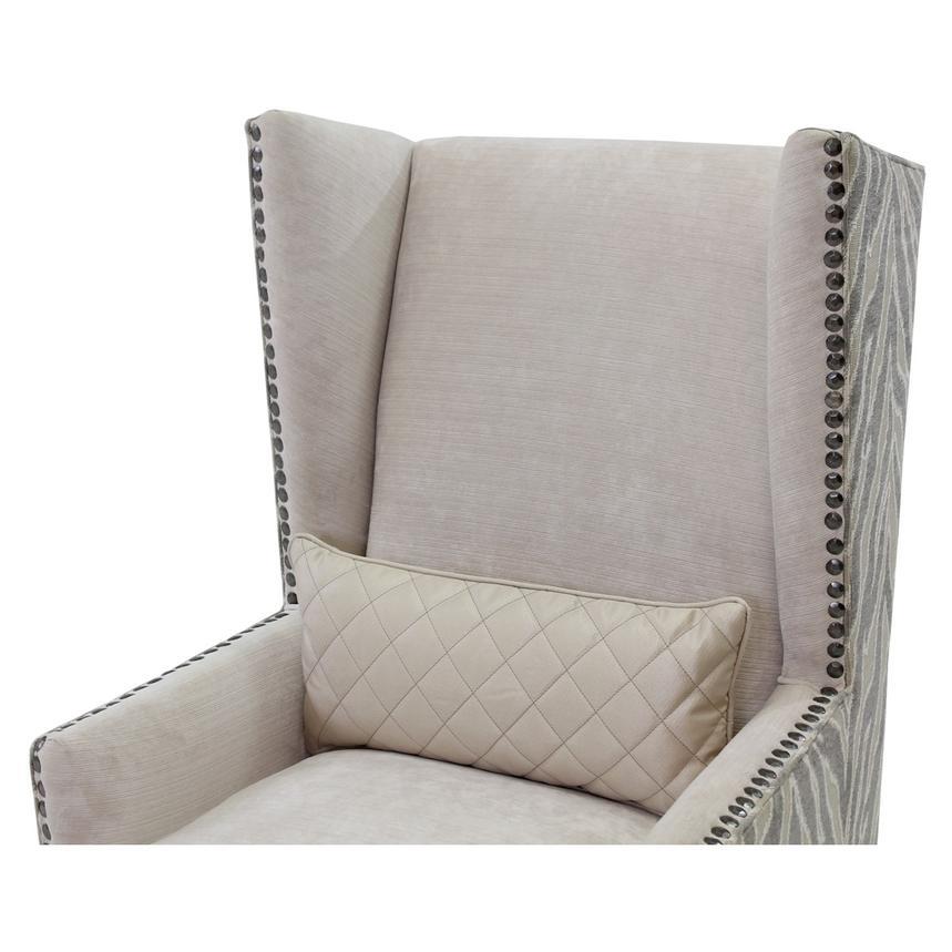 Laura Cream Accent Chair Alternate Image, 3 Of 7 Images.