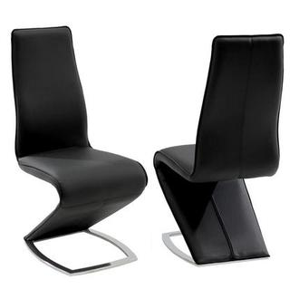 Tegan Black Side Chair