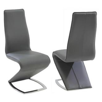 Tegan Gray Side Chair
