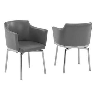 Dusty Gray Arm Chair