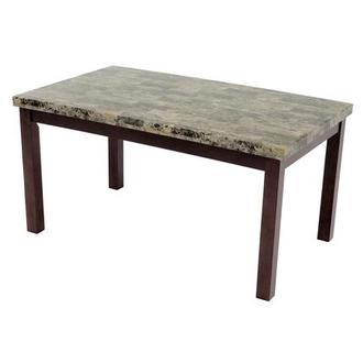 Achillea Brown Rectangular Dining Table