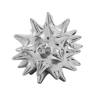 Urchin Silver Table Decor