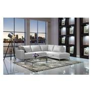 Cantrall White Sofa w/Left Chaise  alternate image, 2 of 6 images.
