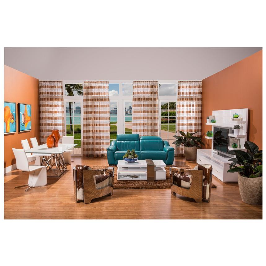 Contour White Wall Unit   El Dorado Furniture