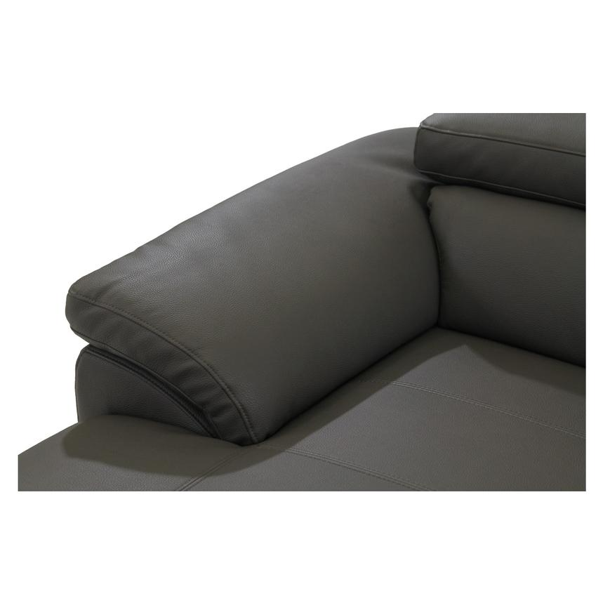 Costa Gray Sofa w/Left Chaise  alternate image, 7 of 7 images.