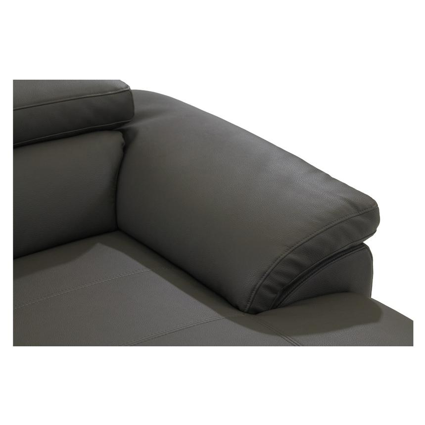 Costa Gray Sofa w/Right Chaise  alternate image, 7 of 7 images.
