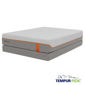 Contour Supreme Memory Foam Queen Mattress Set w/Regular Foundation by Tempur-Pedic