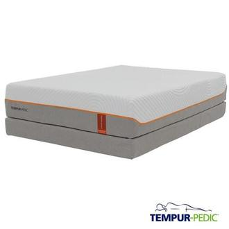 Contour Rhapsody Luxe Memory Foam Queen Mattress Set w/Regular Foundation by Tempur-Pedic