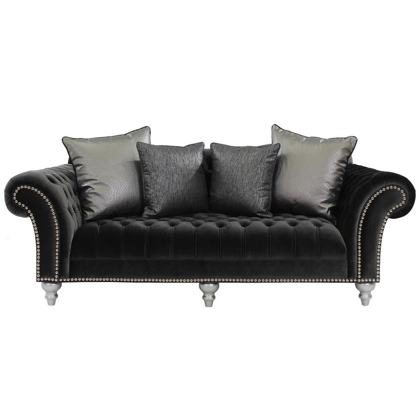 Genial Laura Dark Gray Sofa Alternate Image, 2 Of 6 Images.