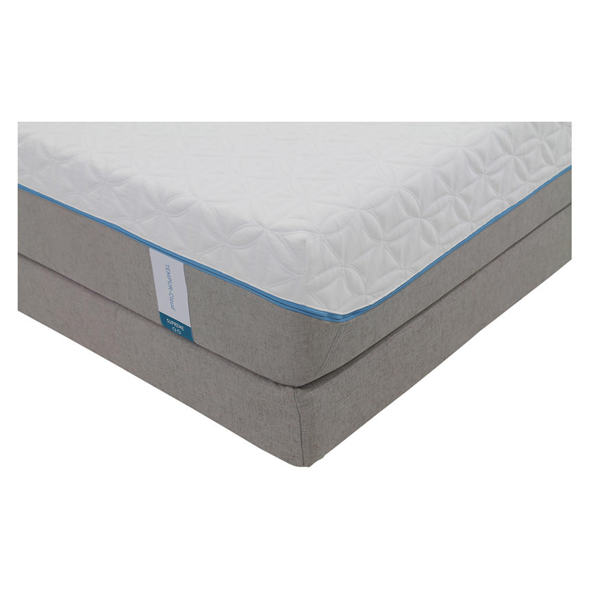 Cloud Supreme Memory Foam Queen Mattress Set w/Low Foundation by Tempur-Pedic  alternate image, 2 of 5 images.