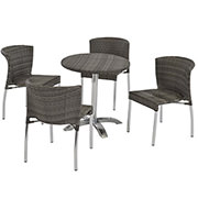 Gerald Gray 5-Piece Patio Set  main image, 1 of 8 images.