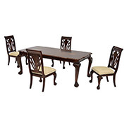 Eloisee 5-Piece Formal Dining Set  main image, 1 of 12 images.