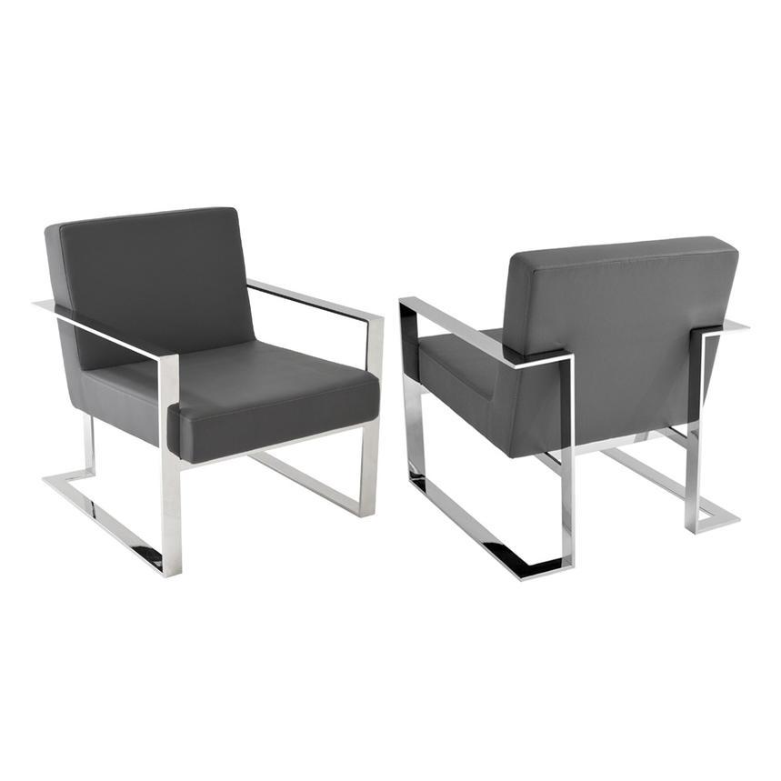 Motivo Gray Accent Chair alternate image 2 of 4 images.  sc 1 st  El Dorado Furniture & Motivo Gray Accent Chair   El Dorado Furniture
