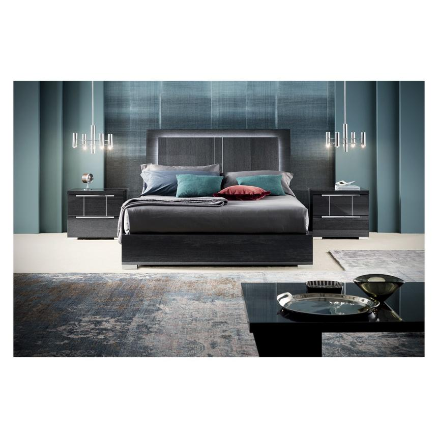 Valery King Platform Bed Made in Italy  alternate image, 3 of 9 images.