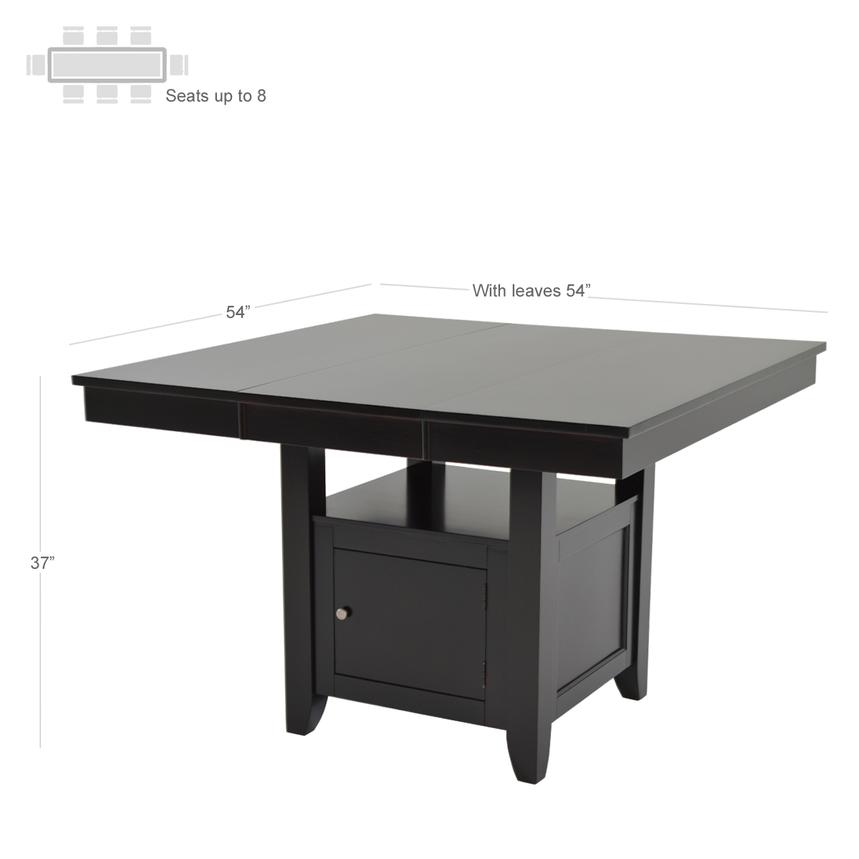 Jennings Extendable Counter Table  alternate image, 2 of 6 images.
