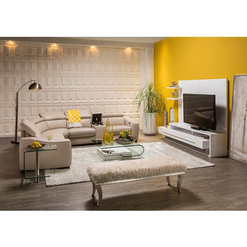 Avanti White Wall Unit   El Dorado Furniture