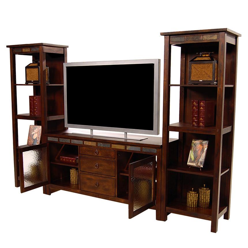Santa Fe Wall Unit   El Dorado Furniture