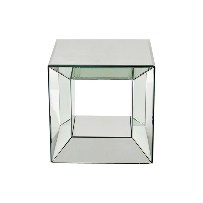 Oleta Mirrored Side Table Alternate Image, 2 Of 4 Images.