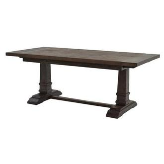 Hudson Brown Extendable Dining Table